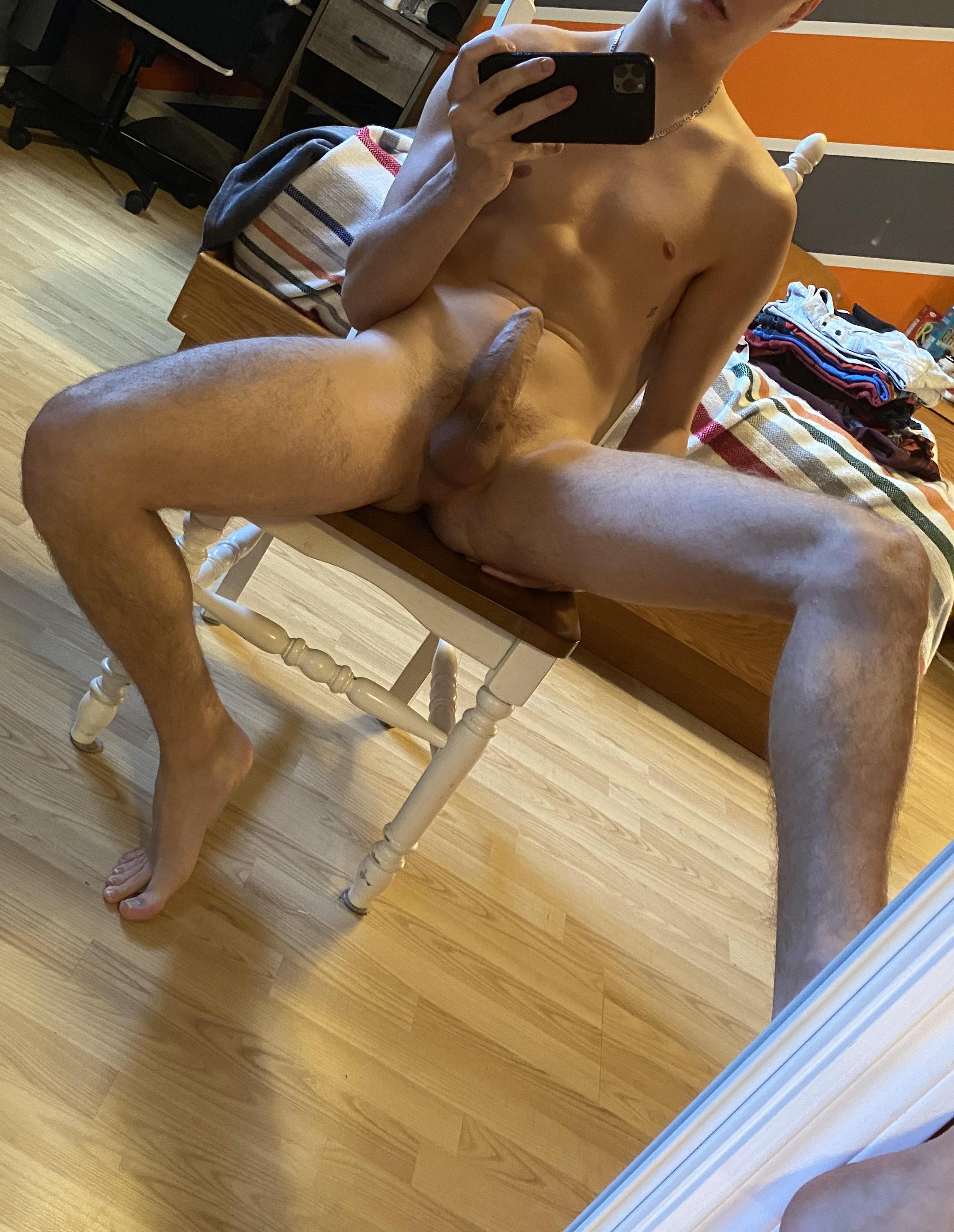 Nude mirror self picture